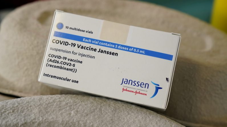 Johnson & Johnson Vaccine |  Millions of volumes produced by an unusable American factory