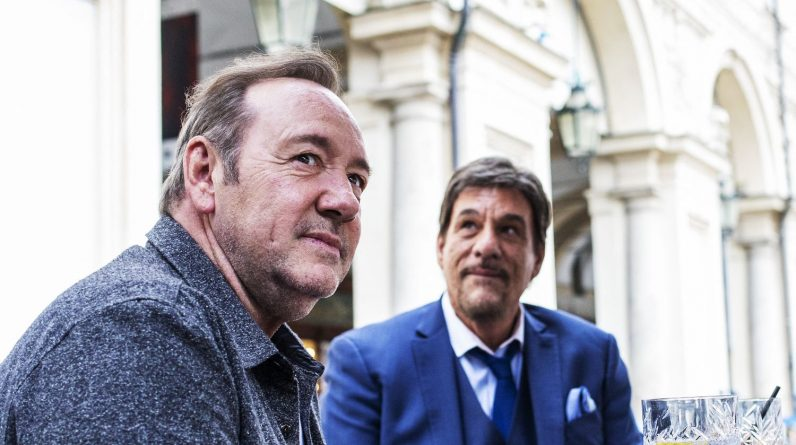 Kevin Spacey, accused of sexual harassment, returns to cinema in a film set in Turin