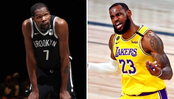NBA KD a snobé LeBron