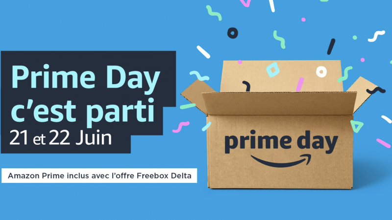 Freebox Delta subscribers: Let's go to Amazon Prime Day