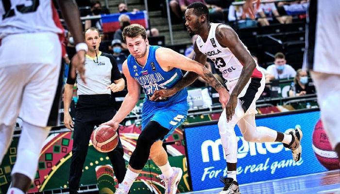 Luka Doncic sous le maillot Slovène