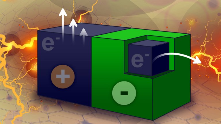 Nanoparticles generate electricity for chemical reactions