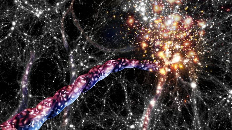 """""""Riddle of cosmology"""": Giant structures revolve in space"""