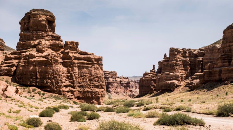 Sharin Canyon Hills .. A Rare Record of Climate Change in 5 Million Years |  Kazakhstan