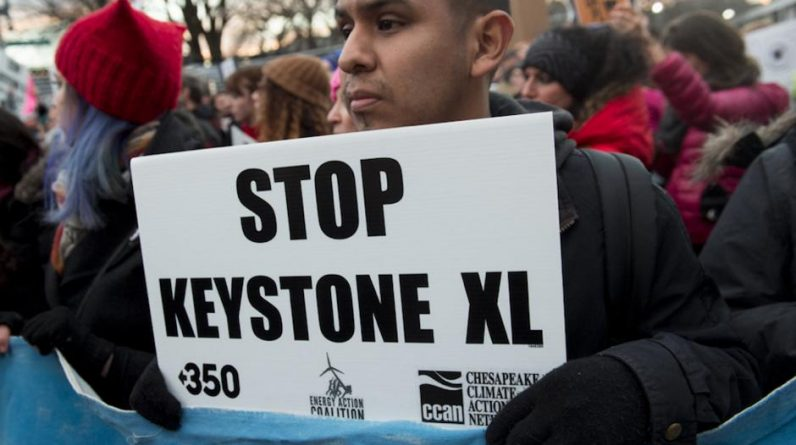 The controversial Keystone XL pipeline was permanently abandoned