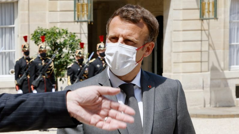The young man who slapped Emmanuel Macron appeared before a judge