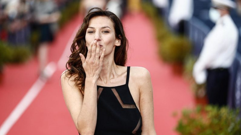 Toria Dillier, host of the 74th Cannes Film Festival