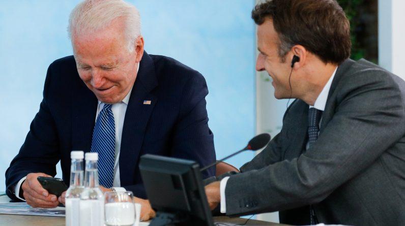 Trump tackles Macron after meeting Pita