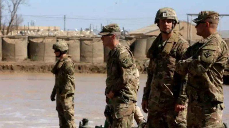 US troops in Syria: US forces in Syria Iranian-backed militia fires rocket