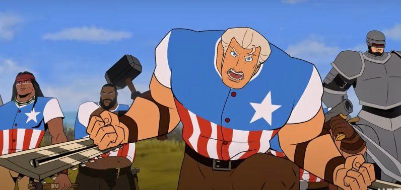 America : The Motion Picture : un premier trailer bien taré pour le film d