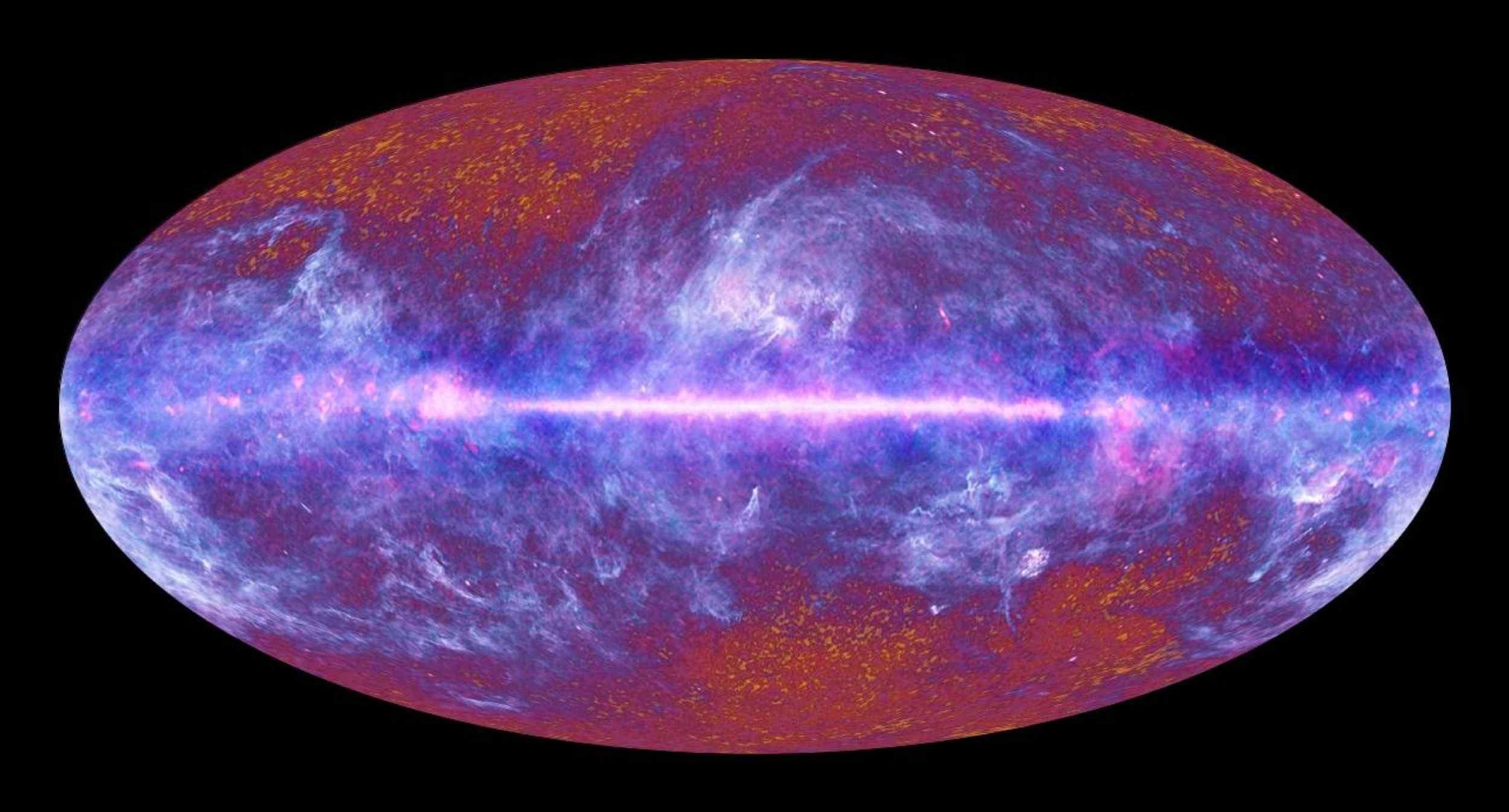 Blank Telescope View of the Universe (Photo: ESA, HFI & LFI Association (2010))