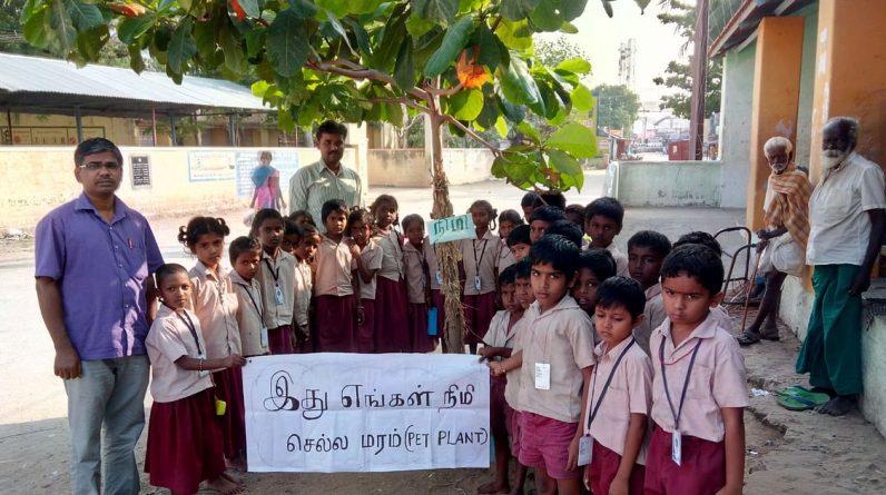 Karur: QR code ID, modern teaching method ... Central Government Award winning public school teacher's achievement!  - Karur Government School teacher gets national award for his innovation