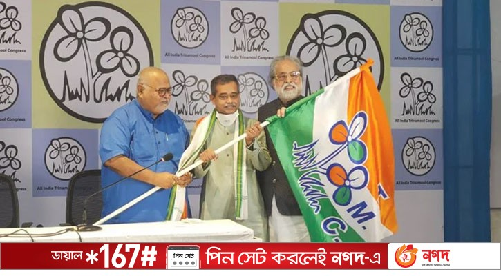 Pranab Putra Abhijit left the Congress and joined Mamata's party