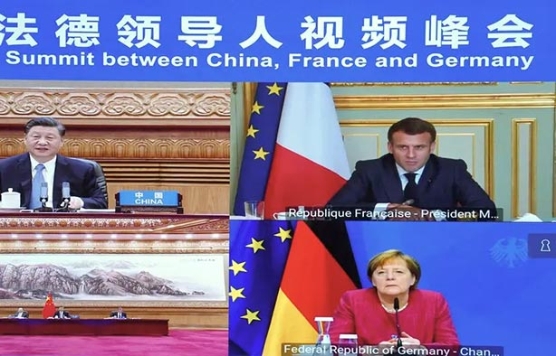 Xi Jinping proposes the US bypass by Africa to Paris and Berlin.  - China Information and News