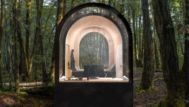 Denison Architect Smartboat: A Prefabricated Cabin Working in Nature (Tele)