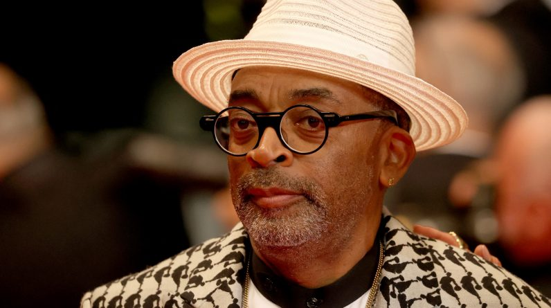- Live - Cannes Film Festival: Sports fan, Spike Lee watched the Euro final