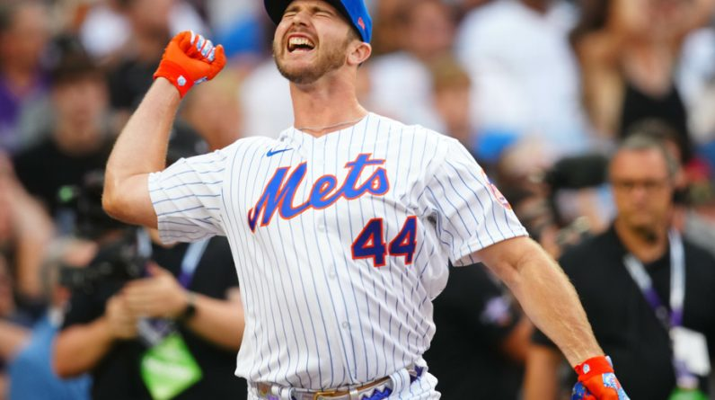 Pete Alonso defends his crown in the MLP round match