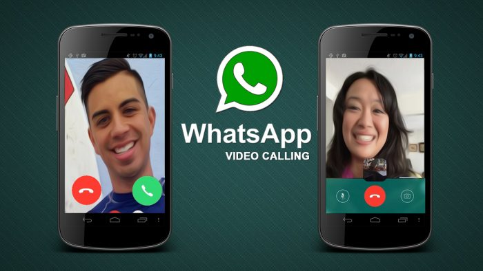 WhatsApp makes video calls easier