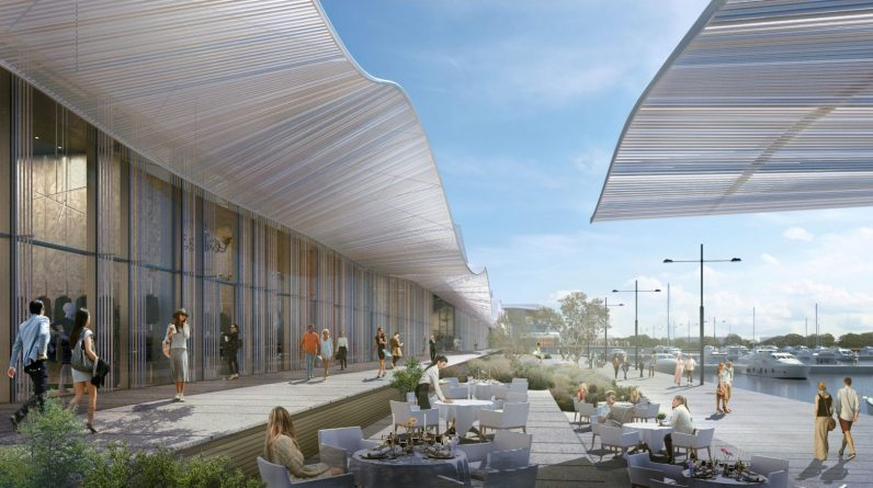 Ellinigo: Plans for the Coastal Area and the Marina Galleria