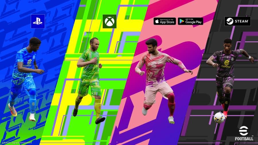 Play Konami eFootball for free