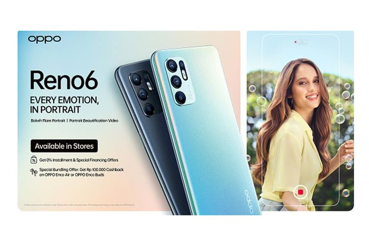 The Oppo Renault 6 is available at the Oppo Store and e-commerce.