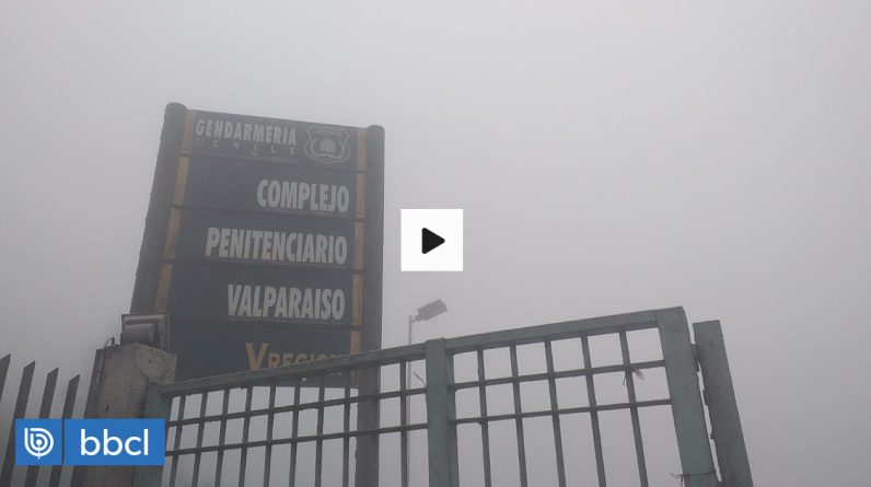 Six inmates threaten Genderme, violate security measures and escape from Valparaiso prison |  National