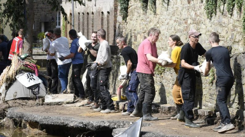 Flood disaster: EU provides aid to Germany