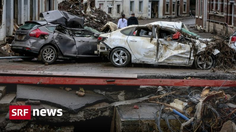 Severe weather in Europe - floods in Belgium - everything is clear in Germany - news