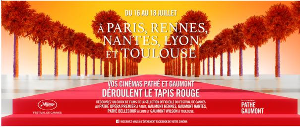 A Special Cannes Festival Weekend in Pathe Belligore |