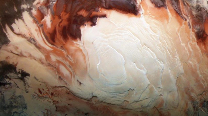 A large lake was discovered on Mars
