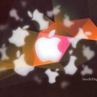 Apple brand logo description