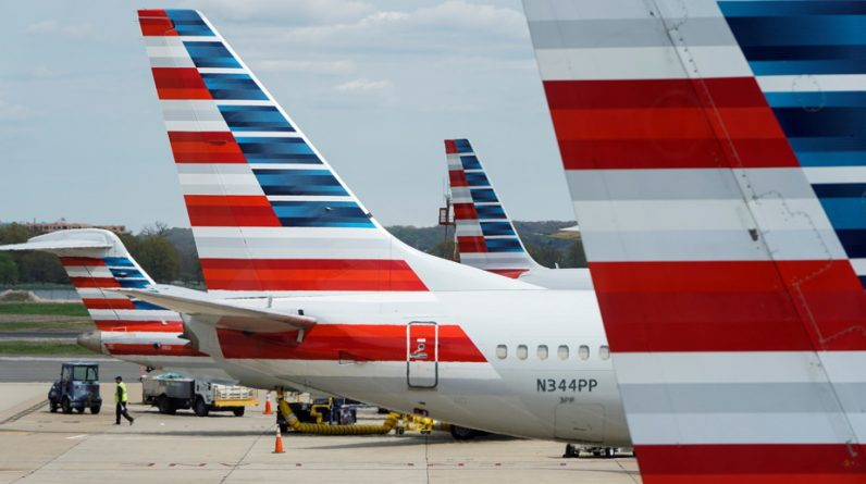 American Airlines releases money for the first time since the outbreak