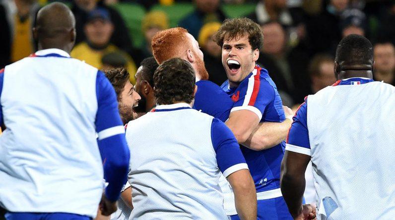 Blues' historic victory over Australia (26-28)