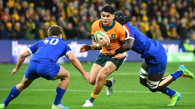 Eight changes for the third Test against France