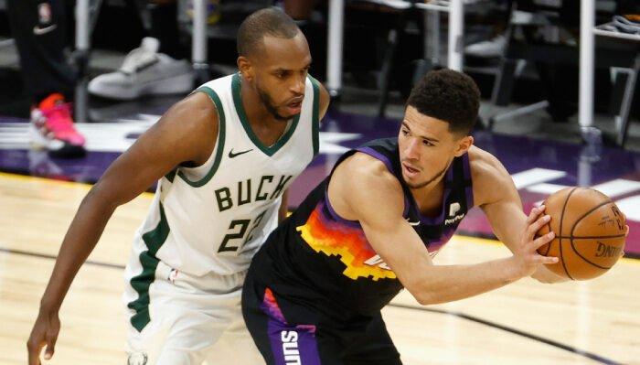 NBA Devin Booker vs Khris Middleton
