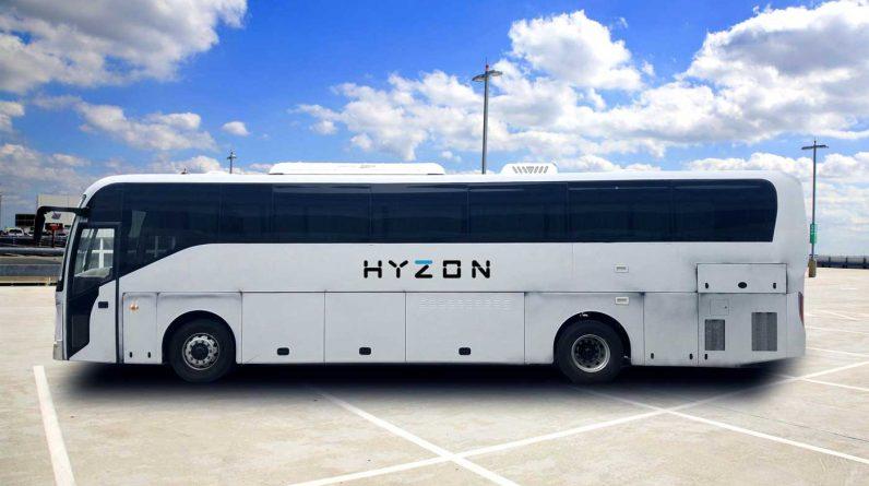 Hyzon va livrer une flotte d'autocars à hydrogène en Australie