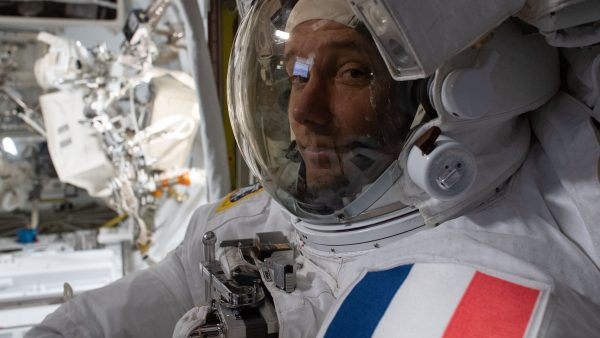ISS astronaut Pesket shared a detailed space photo of the Netherlands