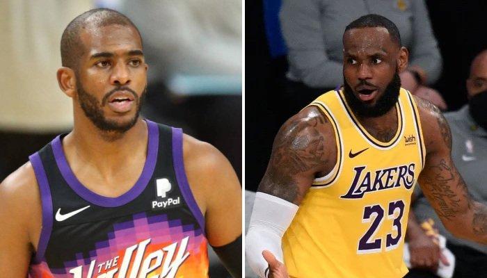 NBA LeBron et CP3 vont s'affronter au premier tour