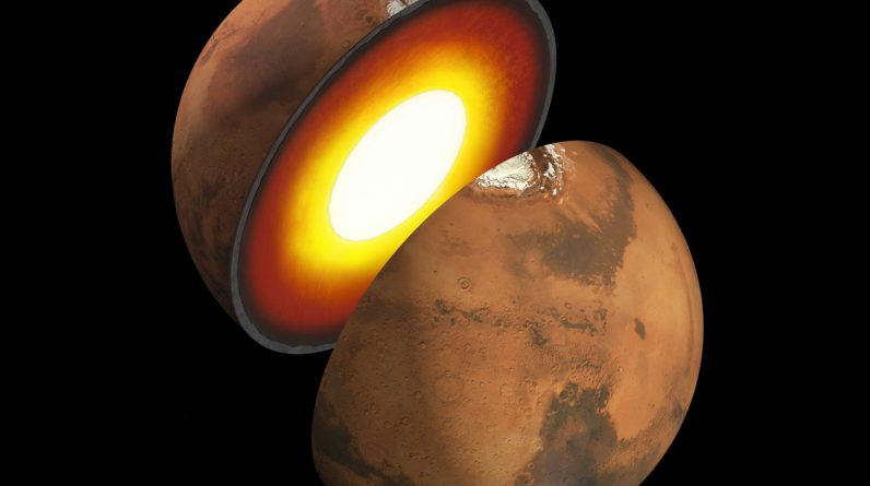 International team of scientists explores the interior of Mars for the first time |  United States