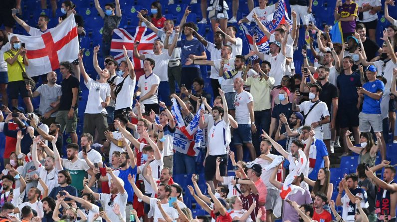 London is overflowing after England's qualification