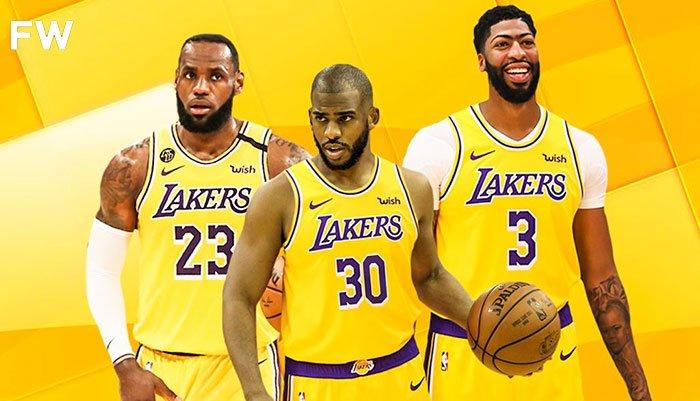 LeBron James, Anthony Davis et Chris Paul pourraient être réunis sous le maillot des Lakers