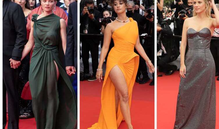 Photos Cannes Film Festival 2021: Melanie Theory betrayed by her costume, Raphael's mate shows a little too much