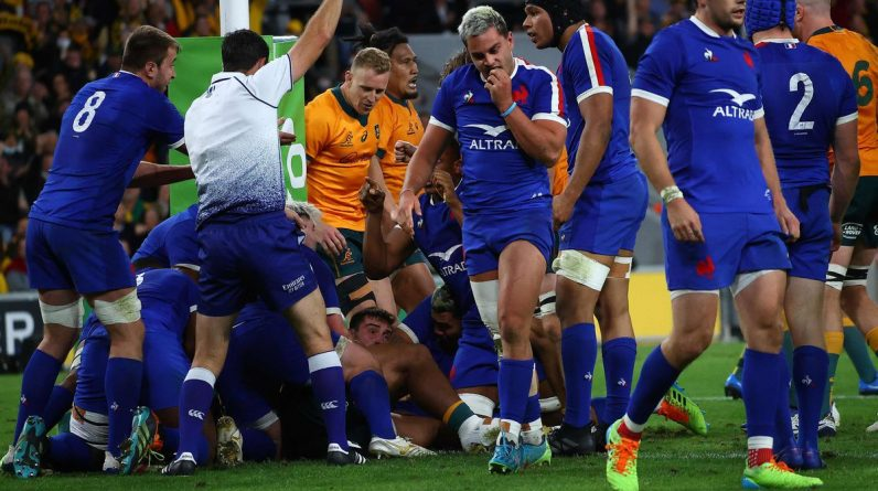 Rugby: France beat Australia