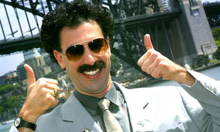 Le personnage de Borat