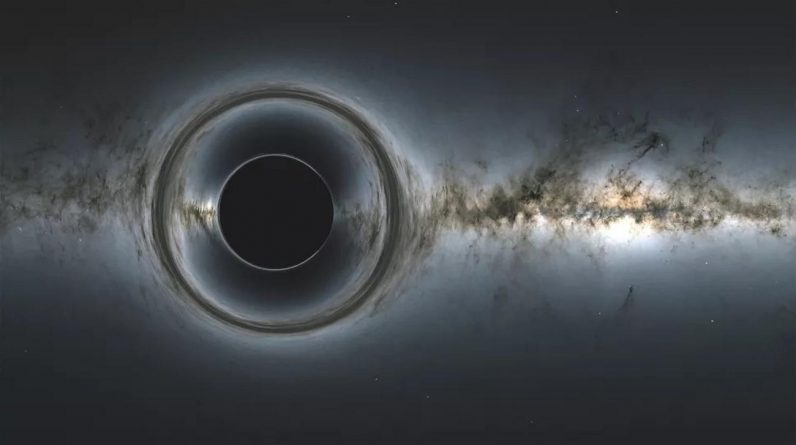 Scientists first saw Light Behind the Black Hole, and here is what they discovered