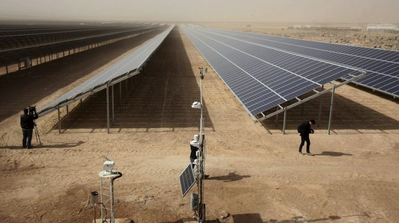 Solar panels, which heat the climate, can be?  |  Science |  News |  The sun