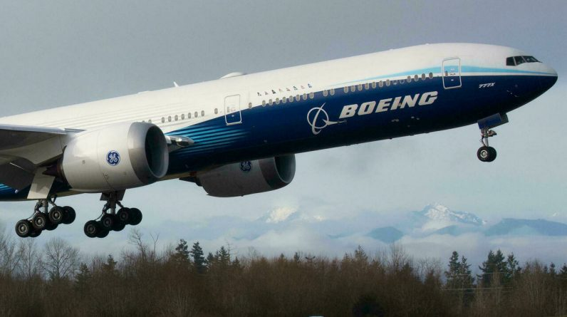 The layer of problems in the Boeing, the actual air hole or the magnifying glass effect?