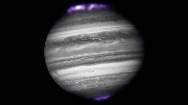 The mystery of Jupiter's north and south lights was finally solved
