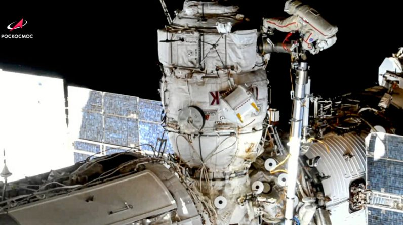 """""""We have contact!"""": Nauka Science Laboratory ISS after 15 years of delays and problems"""