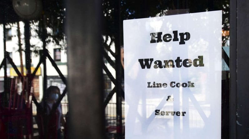 In the United States, labor shortages in an economy are fully recovered